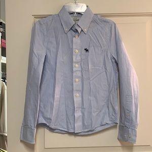Abercrombie boys dress shirt